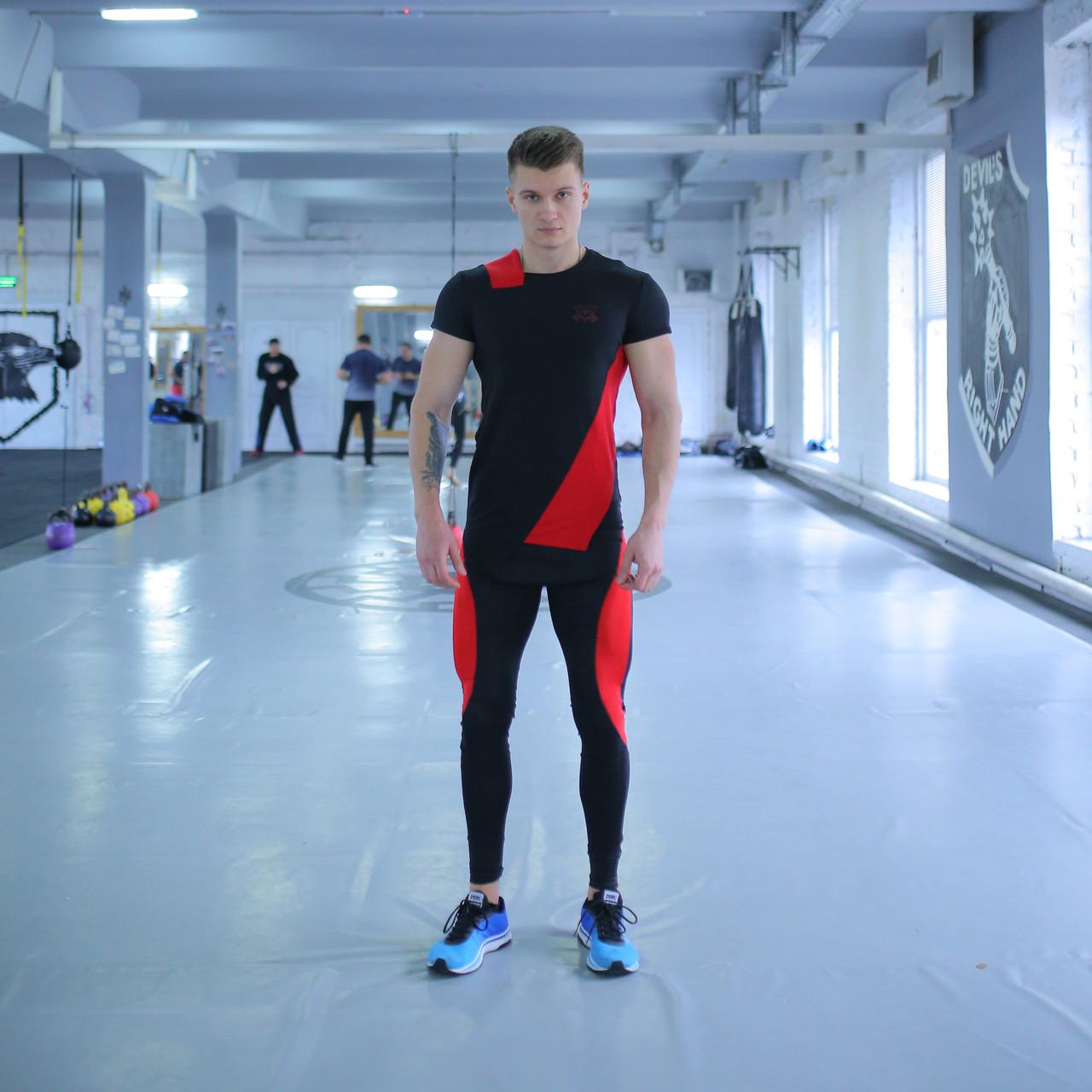 Компрессионная Одежда для спортзала fitU Grade r-black 2.0 FitU