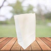Пакеты из белой крафт бумаги 240х150х90 (1000 шт в упаковке)