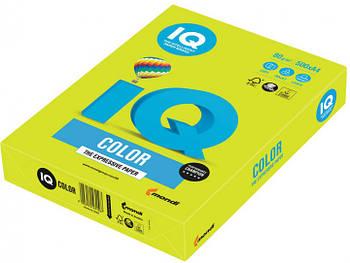 Бумага А4 IQ Color Neon Yellow желтом