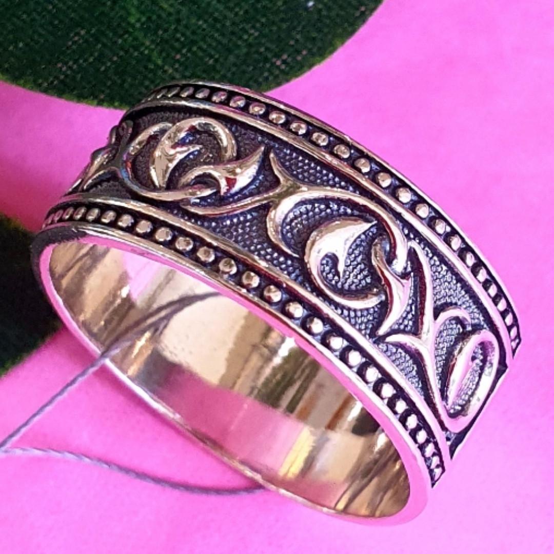 Серебряное мужское кольцо Друиды 2