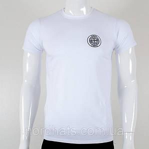 Футболка мужская StoneIsland (0Г02), Белый