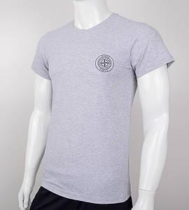 Футболка мужская StoneIsland (0Г02), Серый