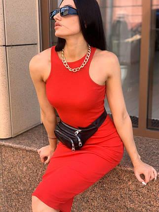 Стильное платье-резинка, фото 2