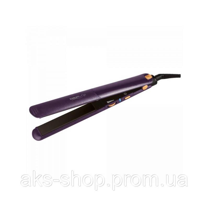 Утюжок для волос Scarlett SC-HS60T60 мощностью 42 Вт с керамическим покрытием