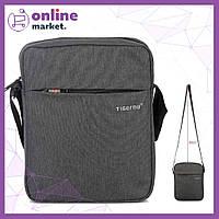 Мужская сумка (мессенджер) Tigernu Grey / Сумка барсетка