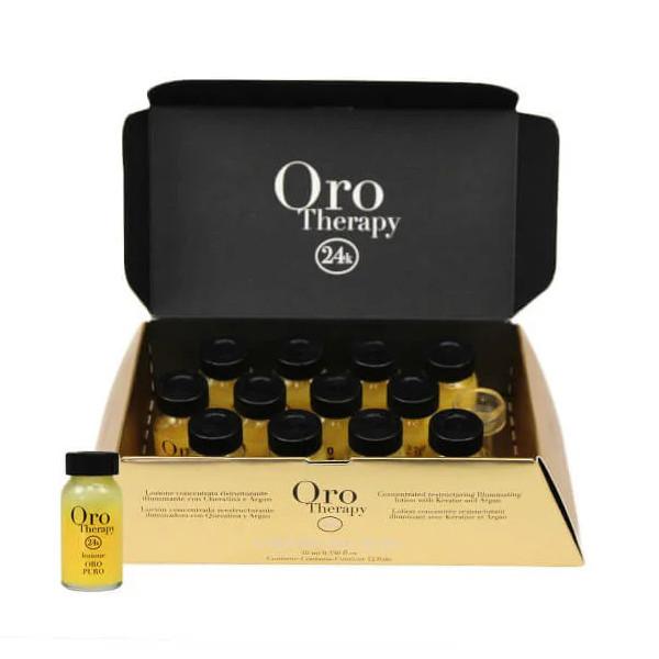 Відновлюючий лосьйон з кератином Fanola Oro Therapy 10 мл