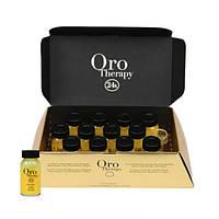 Восстанавливающий лосьон с кератином Fanola Oro Therapy 10 мл