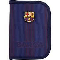 BC20-622 Пенал без наполнения KITE 2020 Education FC Barcelona 622  (1 отд. 2 отв.)