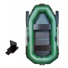 Надувная лодка Ладья ЛТ-240ЕСТ со слань-ковриком