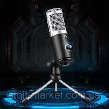 Мікрофон студійний зі штативом