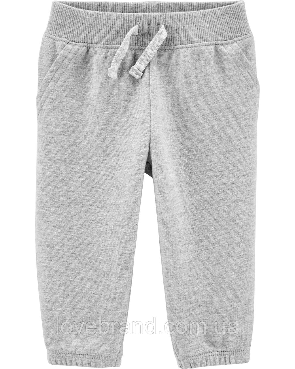 Спортивные штаны для мальчика Carter's серые
