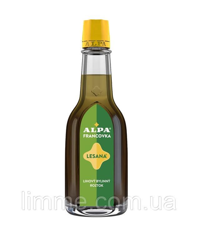 Трав'яний розчин на спиртовій основі Alpa Francovka Lesana 160 мл