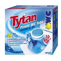 Таблетки для чистки унітаза Tytan Power WC Tabs 16 шт.