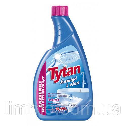 Рідина для миття ванних кімнат та дезінфекції Tytan Lazienki plyn dezynfekujacy 500 г (запаска)