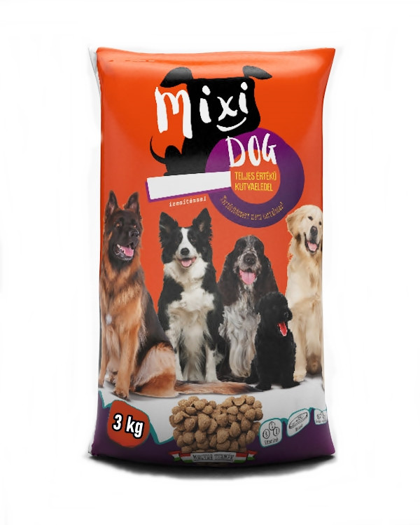 Сухий корм для собак Mixi Dog 3 кг.