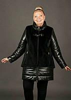 Трендовая зимняя куртка больших размеров (рр 48-58), разные цвета