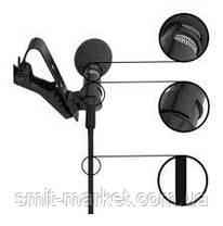 Компактный проводной микрофон с длиною провода 2м., фото 2