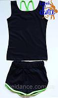 Комплект спортивной одежды майка и шорты
