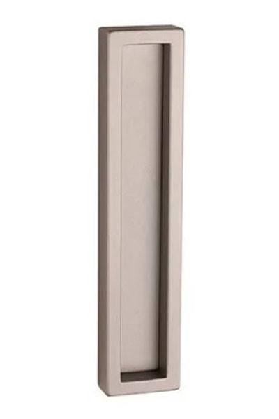 Ручка для раздвижных дверей Tupai 1158Z для стеклянных дверей никель матовый (Португалия)