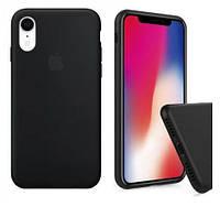 Чохол силіконовий Silicone Case для Apple iPhone XS Black MAX, фото 1