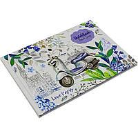 Скетчбук 240 х165 мм, 7 БЦ, 36 листов, чистые листы, дизайнерский (16) №БК129 / 1986