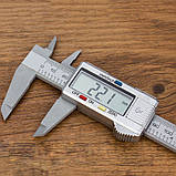 Штангенциркуль №2с-б микрометр цифровой 150мм, фото 7