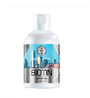 Шампунь для улучшения роста волос с биотином Dallas Biotin Beautifying 1 л