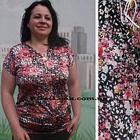 Женская туника большие размеры с 50 по 64 размер, фото 1