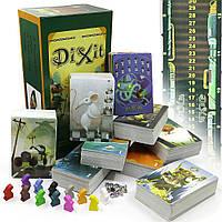 Диксит Dixit 8 частей 1+2+3+4+5+6+7+8 настольная карточная игра CPA