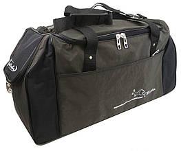Дорожно-спортивная сумка Wallaby 59 л хаки с черным