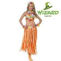 Карнавальный костюм гавайский оранжевый