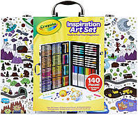 Crayola Inspiration Art Case Набор для рисования Крайола Crayola 140 предметов упаковка рисунок