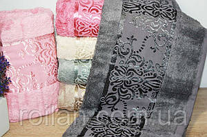 Банные бамбуковые полотенца Bamboo Damask