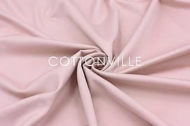 Сатин 240 см Пудровый розовый 100% хлопок премиум