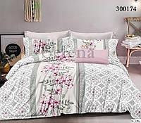 Сатиновое двуспальное постельное белье Lux