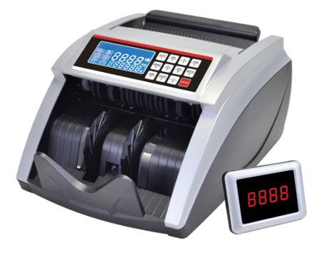 Счетчик банкнот с УФ и магнитным детектором + выносной экран 5100