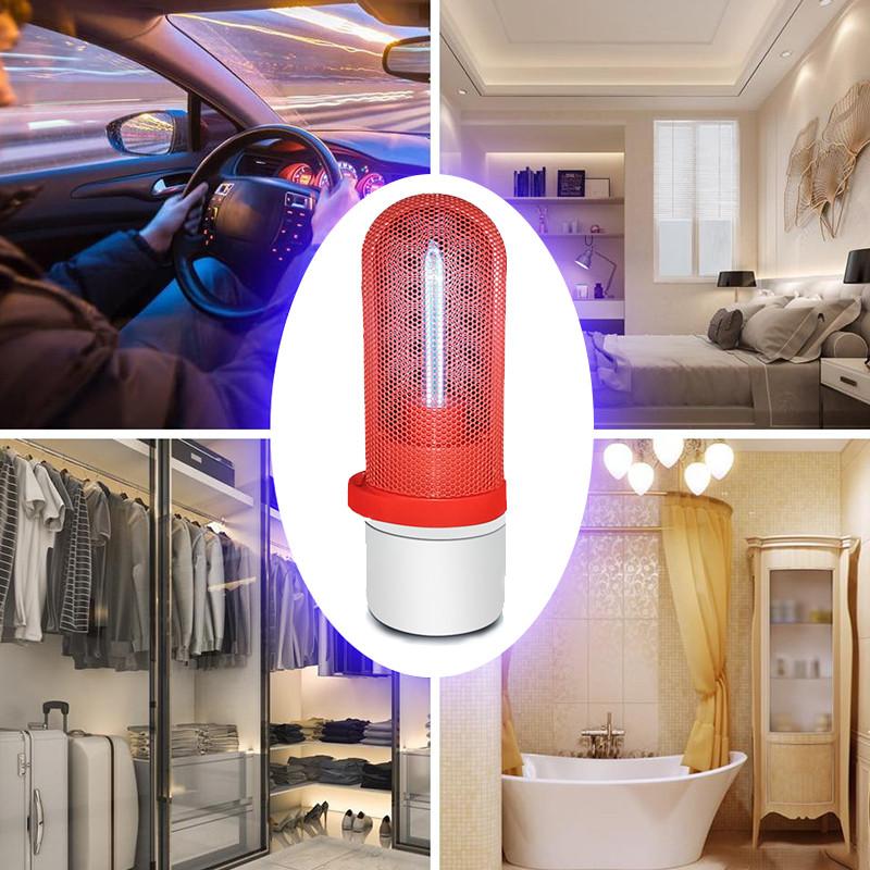 Портативная бактерицидная лампа UVCLife BMQ  безозоновая Red