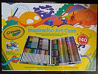Crayola Inspiration Art Case Набор для рисования Крайола Crayola 140 предметов разноцвет