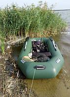 Надувная лодка Ладья ЛТ-240ВТ со слань-книжкой, фото 4