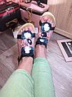 Сандалии босоножки с цветами на платформе,36-40, фото 9
