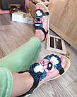 Сандалии босоножки с цветами на платформе,36-40, фото 4