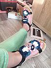 Сандалии босоножки с цветами на платформе,36-40, фото 10