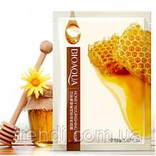 Тканинна маска для обличчя з екстрактом меду Bioaqua