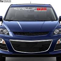 Наклейка на лобово стекло Racing Development TRD