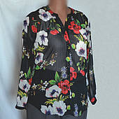 Блуза женская большой размер, Soon из шифона, р.50