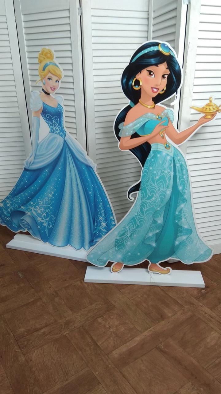 Фігурки принцес, Оренда принцеси Жасмін і Попелюшки. Декоративні принцеси Дісней