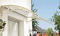 Навес для входных дверей серый Siker 700-N (700*1000 мм)