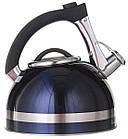 Чайник зі свистком для плити нержавійка A-PLUS 3.0 л, фото 3
