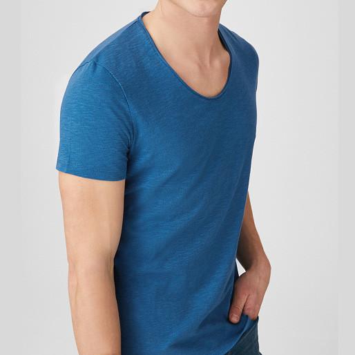 Однотонная хлопковая мужская футболка яркая C&A  оригинал