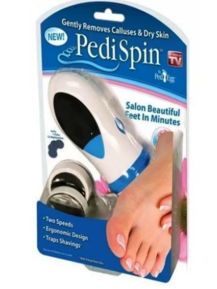 Набор для чистки ступней Pedi Spin, средство по уходу за ногами